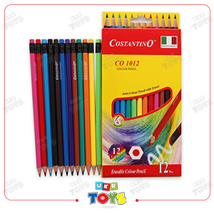color-pencils-with-eraser-12-pc